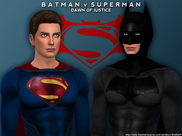 Batman V Superman Set By Amiswift At Tsr 187 Sims 4 Updates