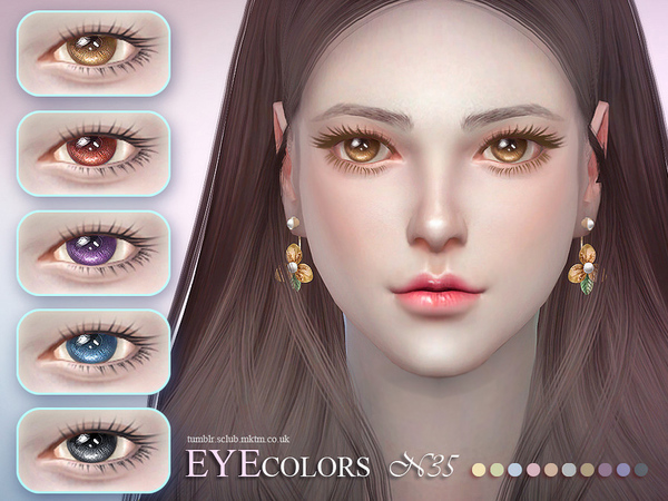 Sims 4 Eyecolor 35 by S Club LL at TSR