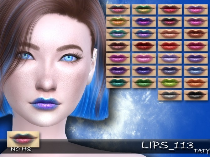 Lips 113 by Taty86 at SimsWorkshop image 584 670x503 Sims 4 Updates