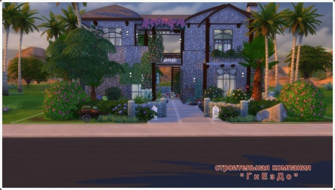 Sims 4 TOYS Holiday Home at Sims by Mulena