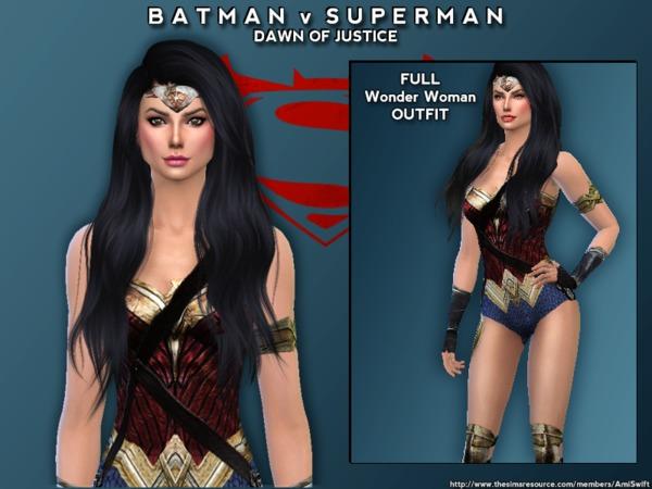 Unique Batman Vs Superman Bedroom Ideas That Rock: Batman V Superman Set By AmiSwift At TSR » Sims 4 Updates