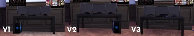 Sims 4 Spiderweb Hardcore Gaming Set by Wazowski Vegeta at Mod The Sims