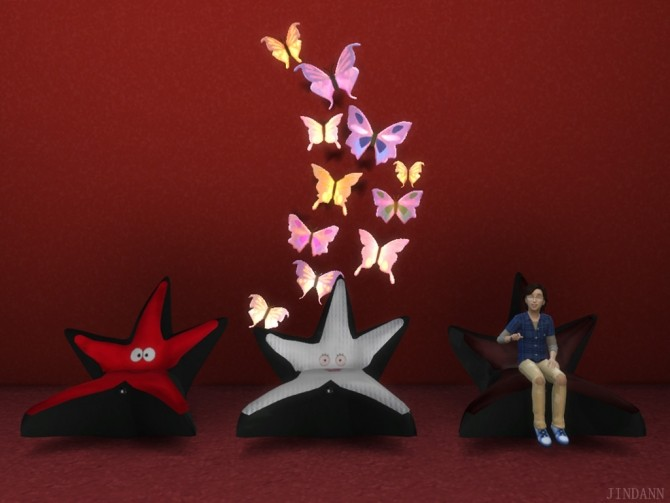 Star Kids Chair by jindann at Mod The Sims image 622 670x503 Sims 4 Updates