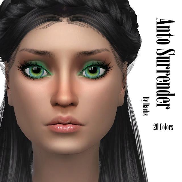 Sims 4 Antos Surrender hair retexture at Dachs Sims