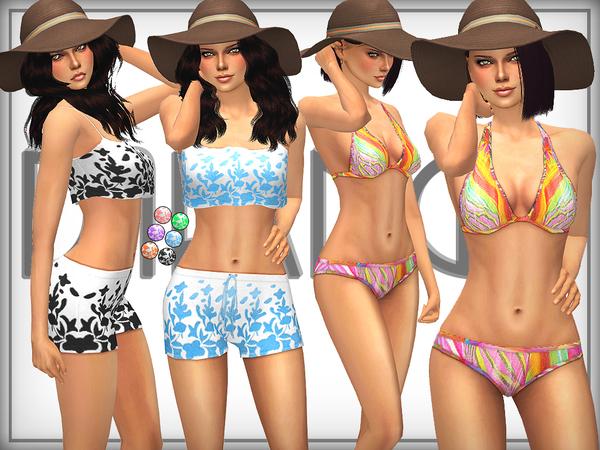 Sims 4 SET 18 Summer Fun Set by DarkNighTt at TSR