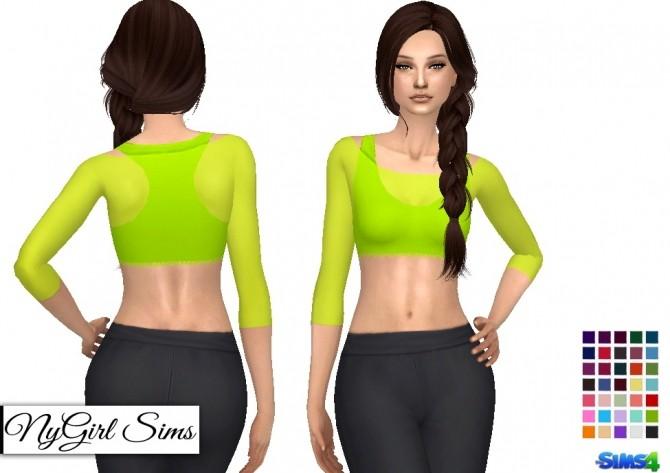 Sheer Covered Half Tank at NyGirl Sims image 6712 670x473 Sims 4 Updates
