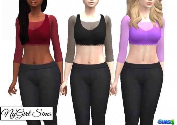 Sheer Covered Half Tank at NyGirl Sims image 6813 670x473 Sims 4 Updates