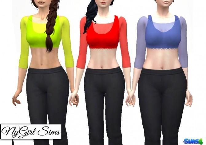 Sheer Covered Half Tank at NyGirl Sims image 6912 670x473 Sims 4 Updates