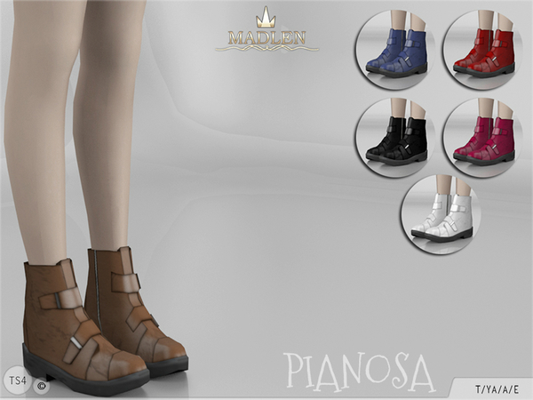 Sims 4 Madlen Pianosa Boots by MJ95 at TSR