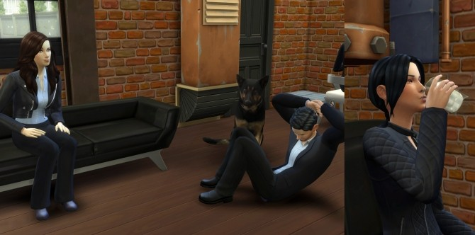 Sims 4 Person of Interest John, Harold, Sameen and Root by Esmeralda at Mod The Sims