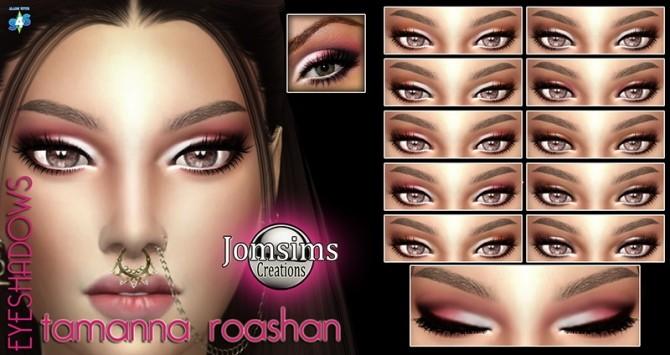 Sims 4 Eye shadows at Jomsims Creations