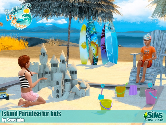 Island Paradise For Kids At Sims By Severinka 187 Sims 4 Updates