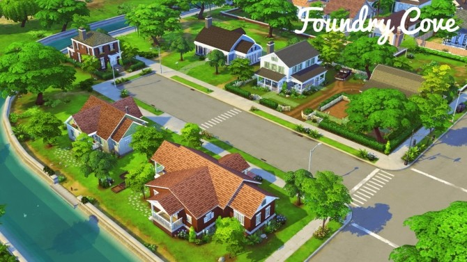 Blythe Harbor Lite at Jenba Sims image 8113 670x377 Sims 4 Updates