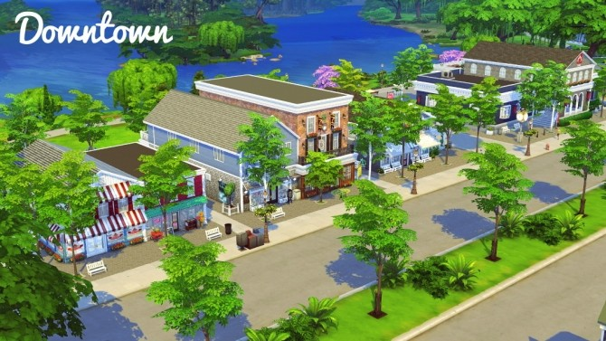 Blythe Harbor Lite at Jenba Sims image 8210 670x377 Sims 4 Updates