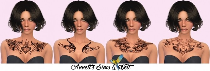 Fantasy Chest Tattoos at Annett's Sims 4 Welt image 8316 670x229 Sims 4 Updates