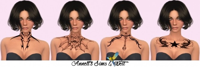 Fantasy Chest Tattoos at Annett's Sims 4 Welt image 8416 670x227 Sims 4 Updates