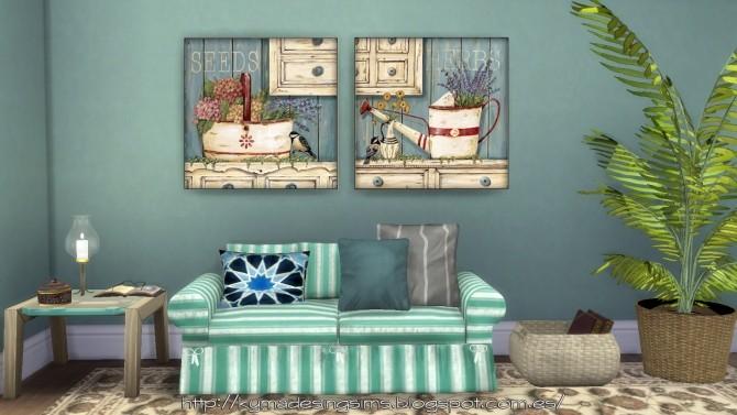 Sims 4 Painting Coastal Cupboard at Kyma Desingsims S4