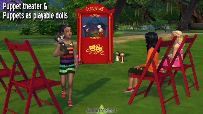 Puppet Theater & Puppet dolls at Around the Sims 4 image 851 670x377 Sims 4 Updates