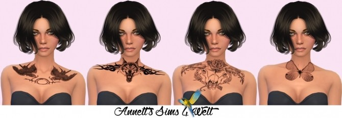 Fantasy Chest Tattoos at Annett's Sims 4 Welt image 8517 670x231 Sims 4 Updates