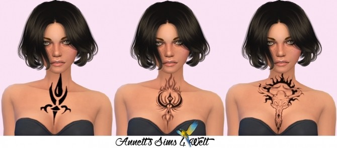 Fantasy Chest Tattoos at Annett's Sims 4 Welt image 8617 670x295 Sims 4 Updates