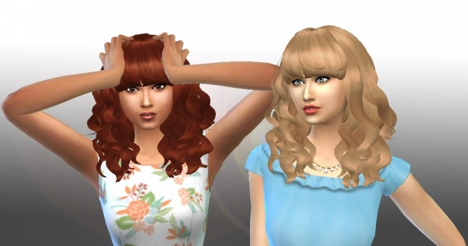 Peggy#885 Hair Conversion at My Stuff image 8715 670x353 Sims 4 Updates