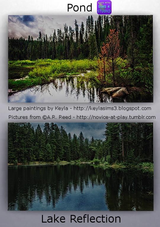 Large Paintings Novice at Play at Keyla Sims image 878 Sims 4 Updates