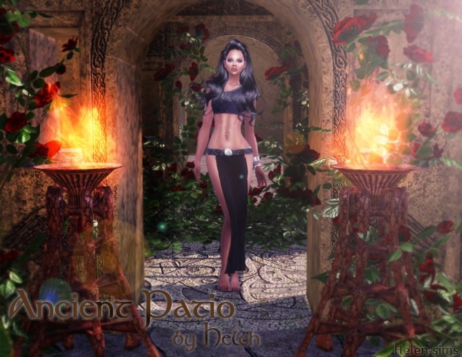 Ancient Patio at Helen Sims image 8811 670x518 Sims 4 Updates