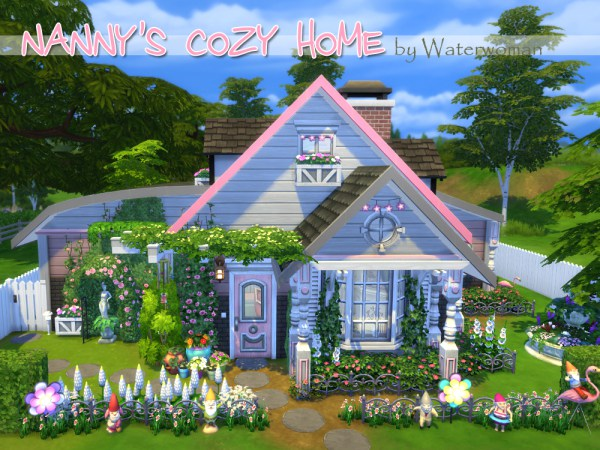 Nanny S Cozy Home By Waterwoman At Akisima Sims 4 Updates