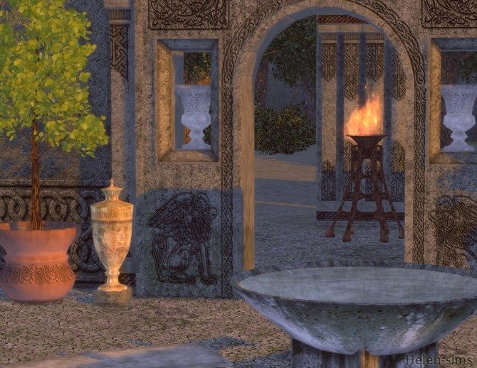 Ancient Patio at Helen Sims image 8912 670x518 Sims 4 Updates
