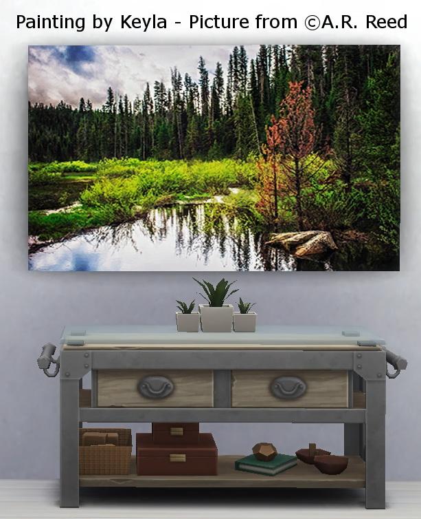 Large Paintings Novice at Play at Keyla Sims image 898 Sims 4 Updates