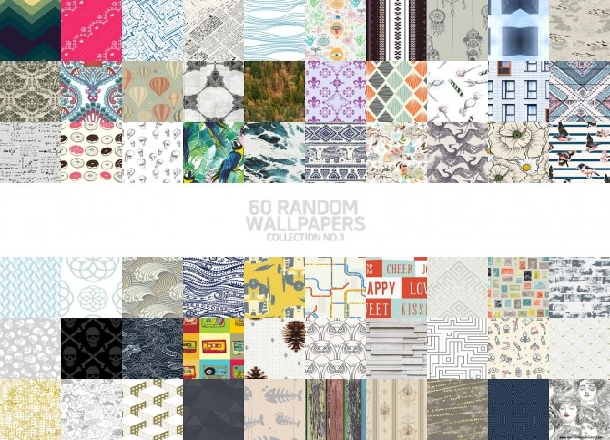 60 Random Wallpapers Collection No.3 at Onyx Sims image 909 670x483 Sims 4 Updates