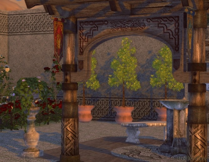 Ancient Patio at Helen Sims image 9116 670x518 Sims 4 Updates