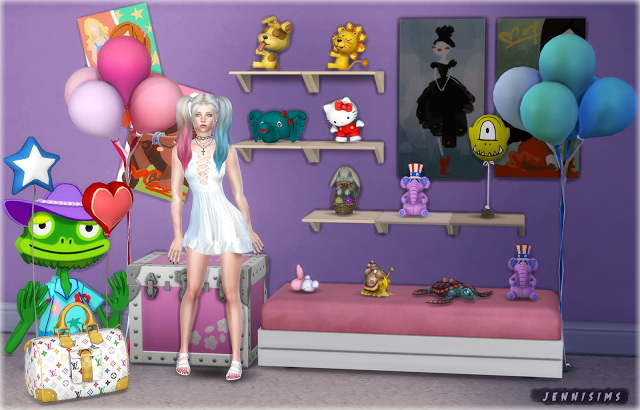 Sims 4 Kids Clutter Vol 20 (15 items) at Jenni Sims