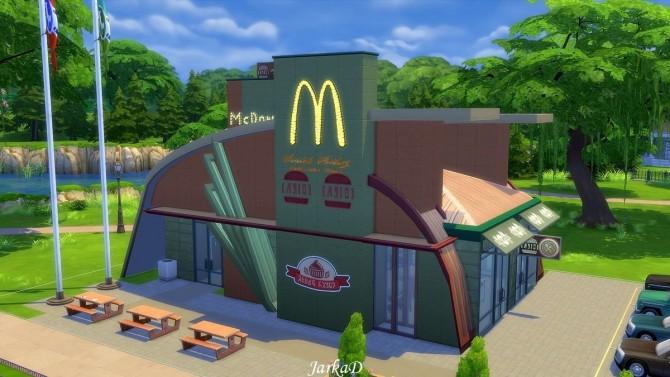 Sims 4 McDonald's at JarkaD Sims 4 Blog