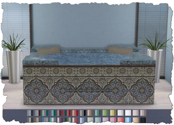 Hot Tub Mosaic V1 at Pixel Shrine – Devilicious image 989 670x481 Sims 4 Updates