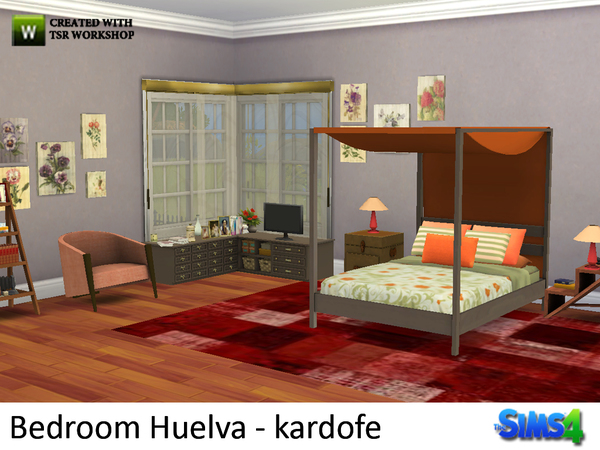 Bedroom Huelva by kardofe at TSR image 10 Sims 4 Updates