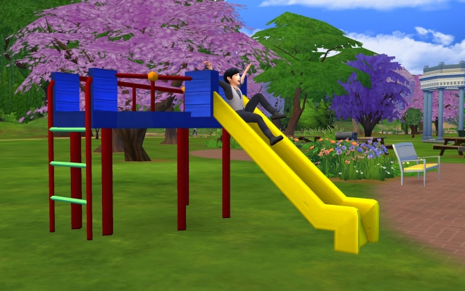 All Day Fun Slide By G1g2 At Simsworkshop 187 Sims 4 Updates