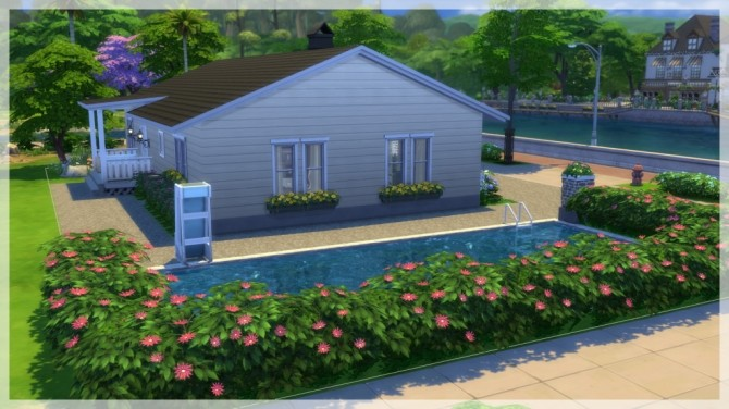 Sims 4 Lilla Vargen house by Indra at SimsWorkshop