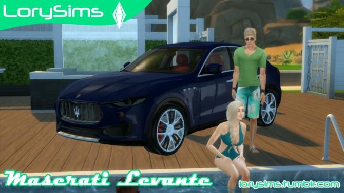 Maserati Levante At Lorysims 187 Sims 4 Updates