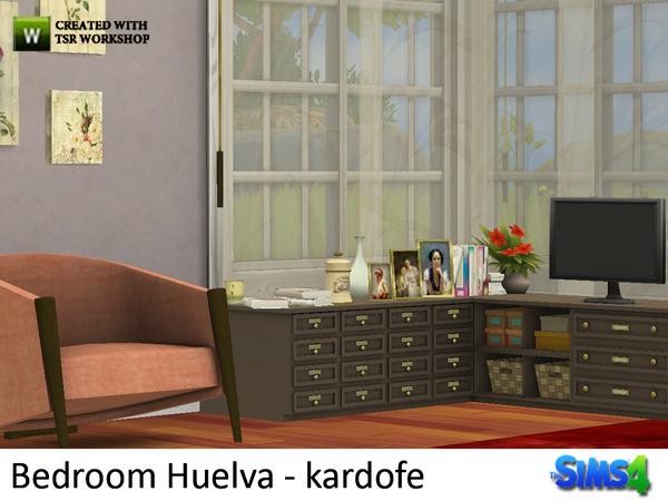 Bedroom Huelva by kardofe at TSR image 11 Sims 4 Updates