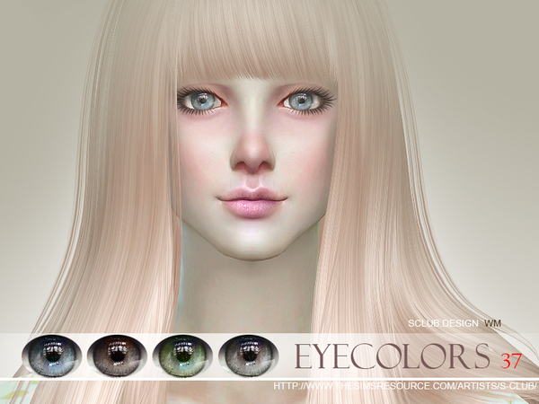 Sims 4 Eyecolor 37 by S Club WM at TSR