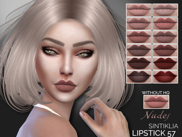 Lipstick 57 by Sintiklia at TSR image 1108 Sims 4 Updates