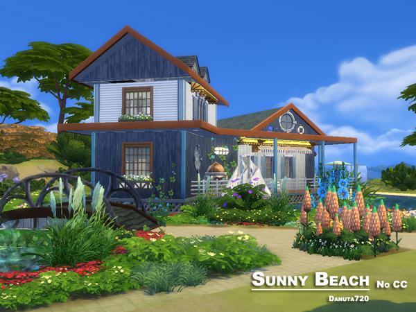 Sunny Beach house by Danuta720 at TSR image 11111 Sims 4 Updates