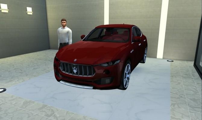 Sims 4 Maserati Levante at LorySims
