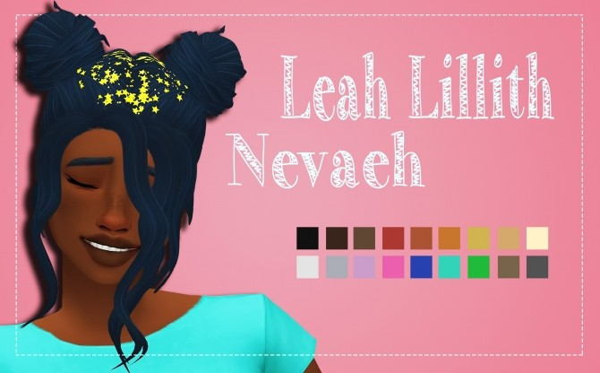 Sims 4 LeahLillith's Nevaeh Clayified + Accessory Recolor by Weepingsimmer at SimsWorkshop