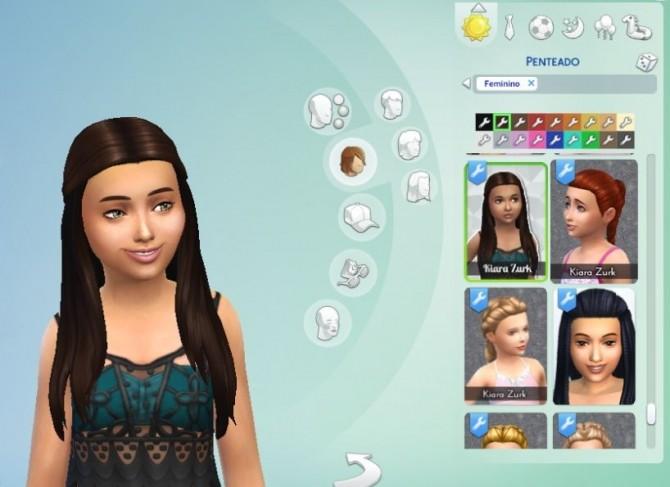 Sims 4 Innovation Hair for Girls by Kiara Zurk at My Stuff