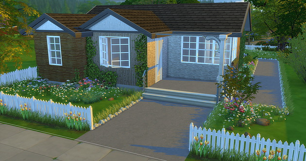 Sims 4 Grandparents Little House at Caeley Sims