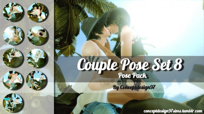 Sims 4 Couple Pose Pack Set 8 at ConceptDesign97