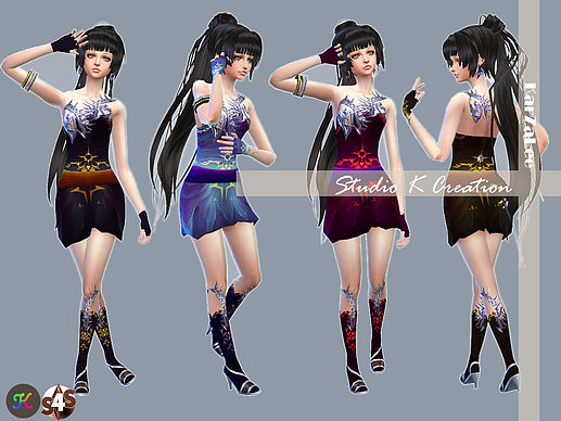 Age of darkness Aions outfit at Studio K Creation image 1138 Sims 4 Updates