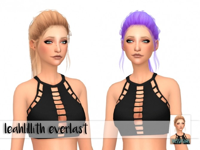 Sims 4 Leahlillith etheral + everlast + heart retextures at Nessa Sims